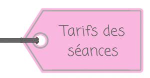Tarifs Sophie Chabaud